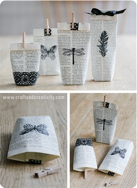 diy paper crafts tutorials book gift wrap homesthetics 2 homesthetics inspiring ideas