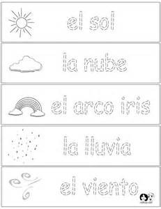 spring printouts spanish spanish for kids http www