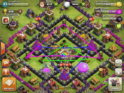 coc layout guide clash of clans base design guide