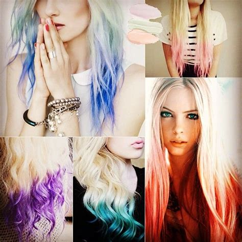 dye bottom hair tips still in style 65 best red pink ombre hair styles extensions images on