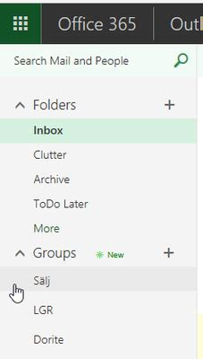 Office 365 Outlook Missing Groups Icons Is Missing In Outlook On The Web Microsoft