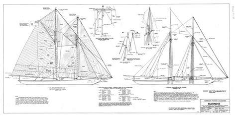 schooner floor plans roks boat useful bluenose model boat plans