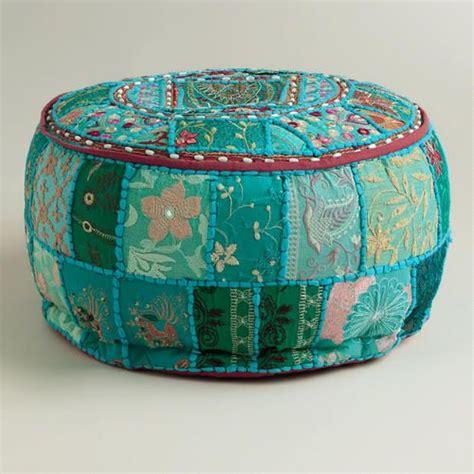 aqua suti pouf at cost plus world market gt gt worldmarket