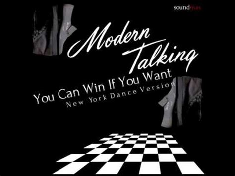 Dancow Verio modern talking you can win if you want new york