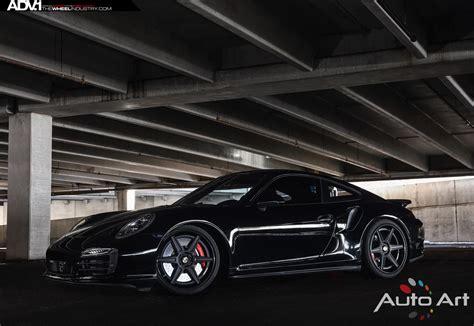 porsche turbo wheels black black porsche 997 turbo s adv6 track spec sl wheels