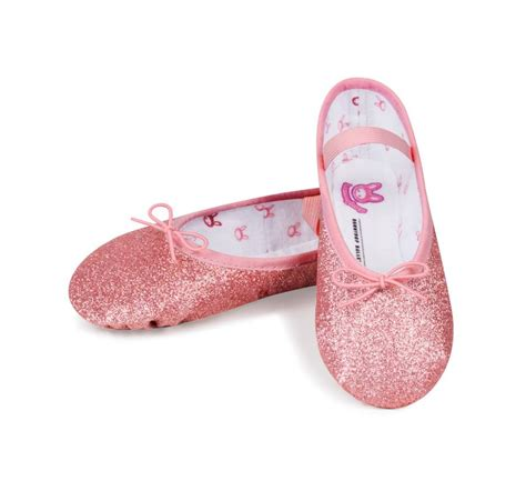 Sepatu Balet Glitter bloch bunnyhop toddler glitter ballet shoe black and
