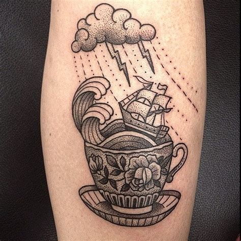 dotwork tattoo manila 10 beautiful and meaningful sailing ship tattoos tattoodo