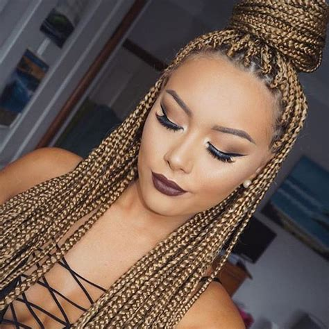 box braids hair for prom 25 best ideas about box braids updo on pinterest