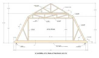 gambrel roof design medeek design inc truss gallery