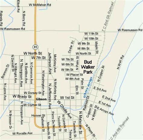 bud walker park ajo az location