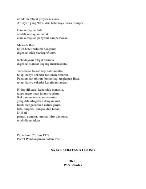 membuat puisi kebudayaan kumpulan puisi