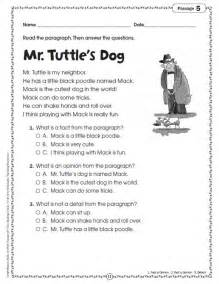 First grade short reading passages quotes