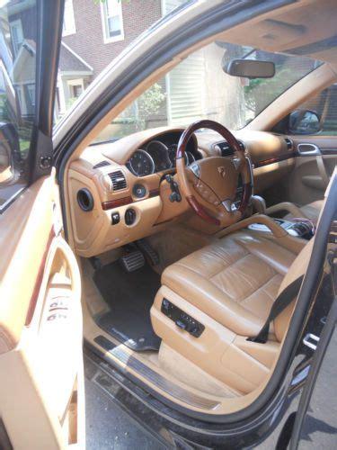 4 Door Porsche Interior Sell Used Black 2005 4 Door Porsche Cayenne Turbo V8 Premium Wheels Leather Interior In West
