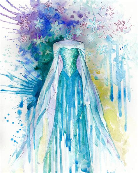 painting for princess children print disney watercolor painting print