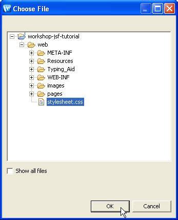 design jsf application jsf チュートリアル 3 ビューをデザインする