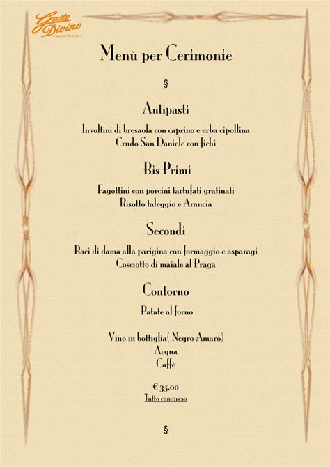 layout per menu ristorante itinerari e sapori promozione di ristoranti agriturismo
