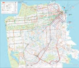 Trolley Map San Francisco by Map Of San Francisco Streets Submited Images