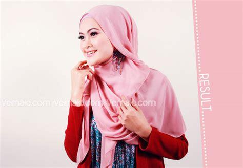 Segi Empat Mezora 9 cara memakai jilbab segi empat simpel dan anggun cara memakai jilbab kreasi modern