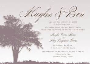 wonderful wedding invitation wording from and groom theruntime