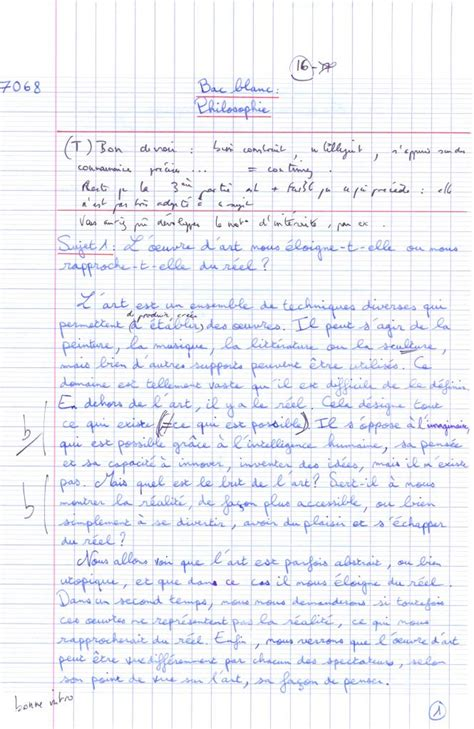 Exemple De Dissertation by Comment Faire Une Dissertation