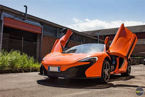 mclaren hire rent mclaren 650s spider in europe supercar hire