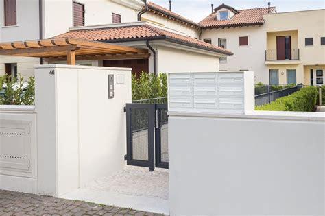 cassette postali esterno casellari per recinzione silmec