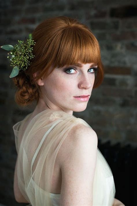 Wedding Hairstyles With Bangs by 15 Gorgeous Bridal Hair With Bangs Pretty Designs