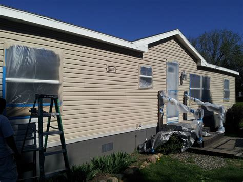 how to paint a mobile home exterior my 39 s song