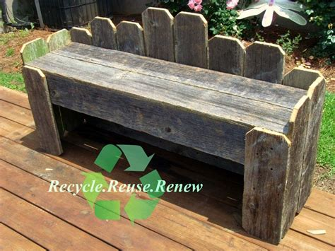 long outdoor bench long cottage garden bench old recycled wood made to order