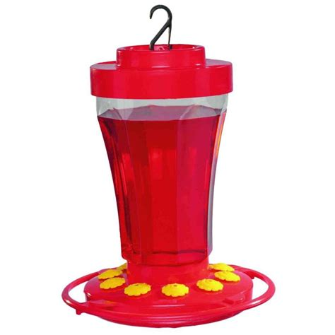 first nature 32 oz hummingbird flower feeder 993090 446
