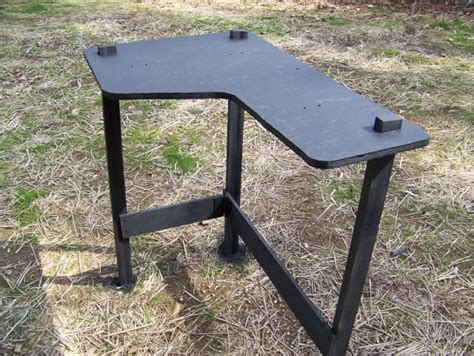 homemade shooting bench plans homemade portable shooting bench