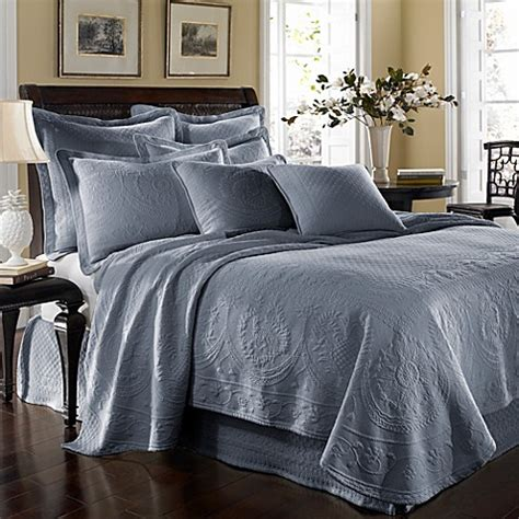 blue coverlets king king charles matelasse coverlet in powder blue bed bath