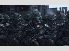 Fond d'écran : science fiction, guerre, Équipement de l ... Future Battle Helmet