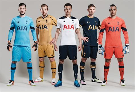libro official tottenham hotspur 2016 new 2016 17 under armour kits revealed 8 july 2016 news tottenhamhotspur com