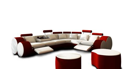 red and white sectional 3087 modern white and red leather sectional sofa and