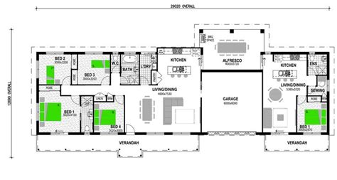 house plans with granny flat cedar 203 with 1 br attached granny flat dream home