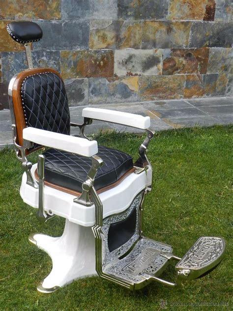 antiguo sillon de barbero triumph de  esp comprar objetos barberia antigua en