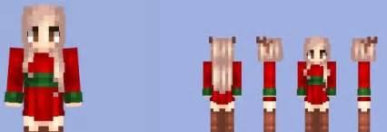 Christmas party dress girl skin minecraft 1 9 1 8 9 1 7 10 mods