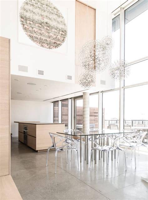table verre bois salle manger wraste