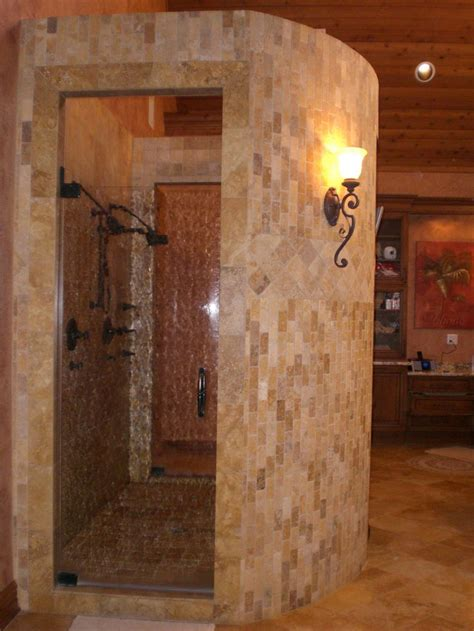 Showers Without Glass Doors 16 Best Ideas About Showers Without Doors On Traditional Bathroom Walk In Shower