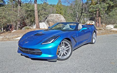 2014 chevrolet corvette stingray convertible test drive
