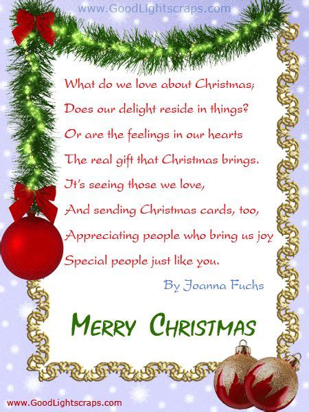 cute christmas poems  friends festival collections