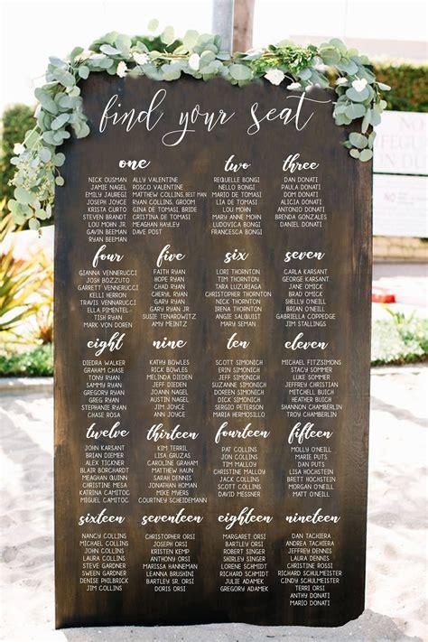 225 best wedding seating chart ideas images on pinterest wedding