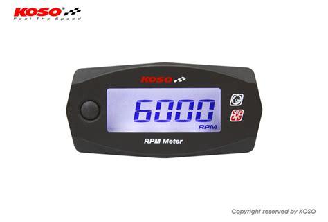Meter Rpm Koso Koso Mini 4 Rpm