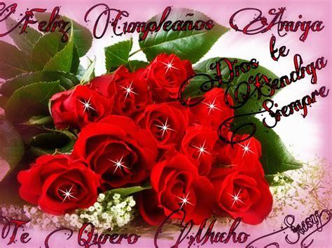 imagenes de rosas de cumpleaños tarjetas de ramos de rosas para cumplea 241 os im 225 genes de