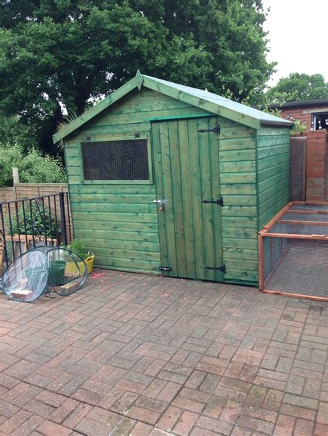 When Do Rabbits Shed by The New Rabbit Shed 8x6 For Rabbits