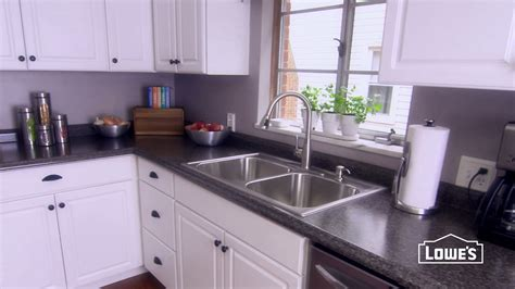 Ideas How To Install Formica Countertops With White Wood White Formica Kitchen Cabinets