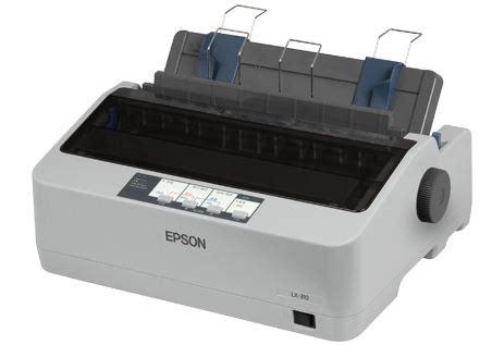 Printer Epson Lx 310 Second jual epson printer lx 310 printer dot matrix murah untuk rumah kantor sekolah dll