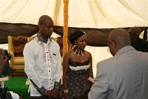 Thulisile and Cedric Mangena?s ModernTraditional Wedding