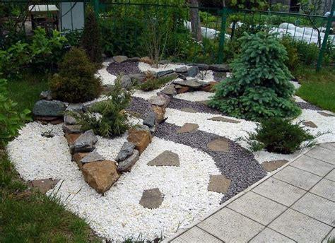 Steingarten Ideen by Japanese Rock Gardens Front Yard Pictures